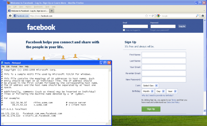 how to tell if your page on facebook is public